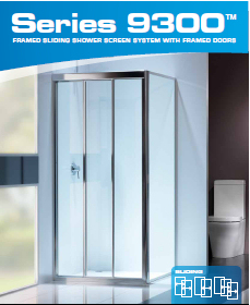 sSeries9300 Shower Screen