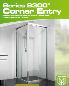Series 9300 Corner Shower Screen